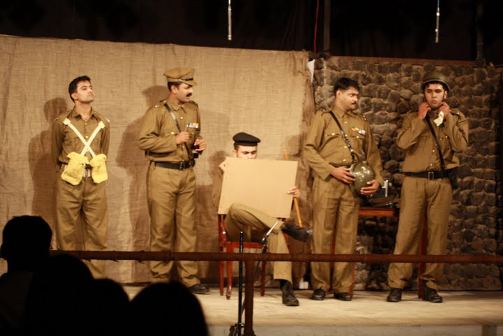A Scene from 'A Funny Thing Called War'