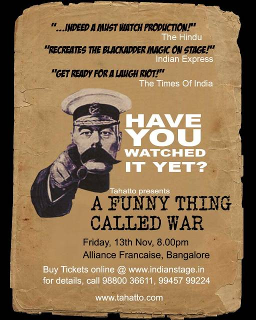 A Funny Thing Called War - Teaser