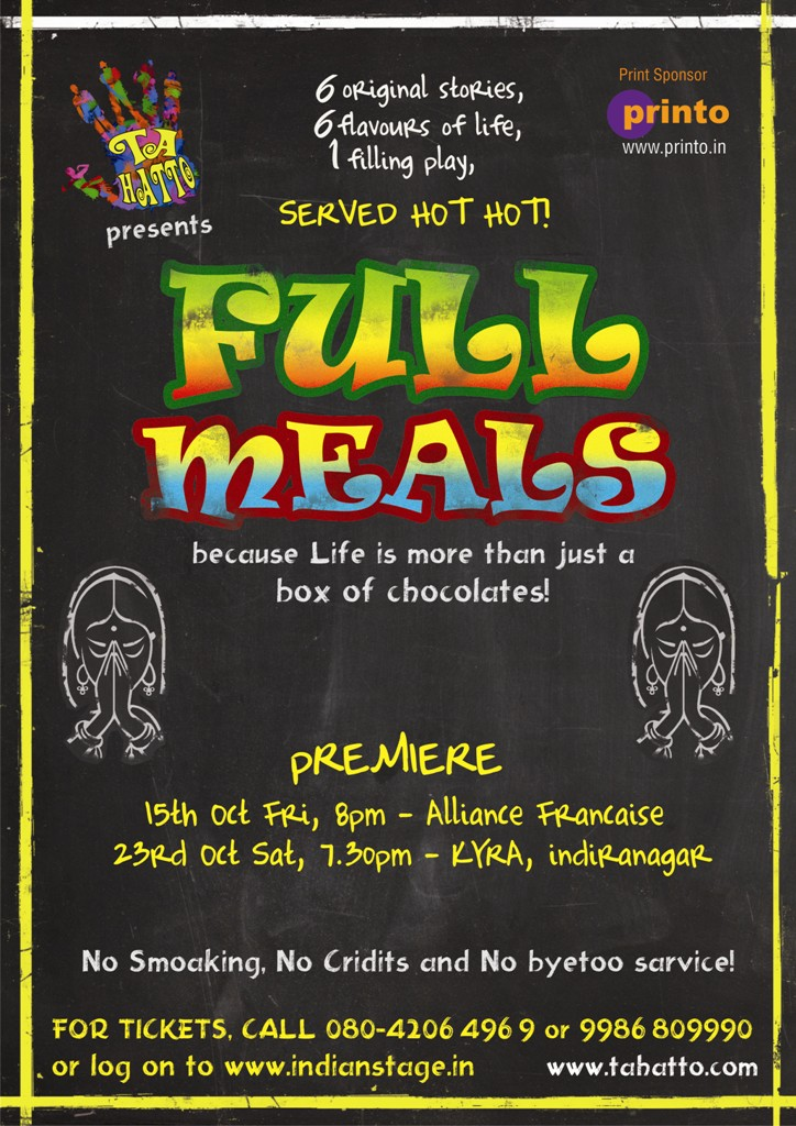 Tahatto presents Full Meals