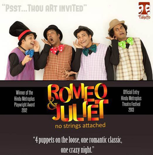 Romeo and Juliet – No Strings Attached – Bloggers Special