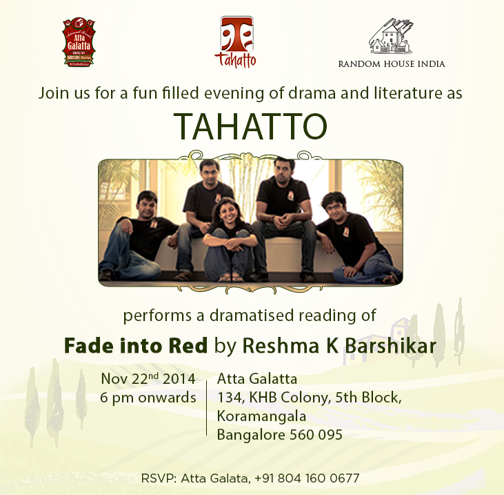 Book Reading Fade In Red by Tahatto